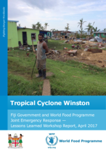 Tropical Cyclone Winston - Fiji Government and WFP Joint Emergency Response - 2017