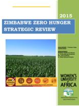 2015 - Zero Hunger Strategic Review - Zimbabwe
