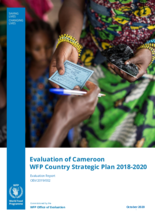 Evaluation of Cameroon WFP Country Strategic Plan 2018-2020