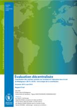 Madagascar, School Meals Programme (2015-2019): Evaluation
