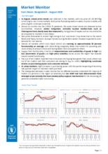 WFP Bangladesh – Cox's Bazar Market Monitor – August 2020