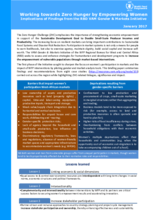 Gender and Markets Initiative for West and Central Africa - Review of Literature and Secondary Data