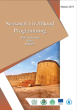Seasonal Livelihood Programming, District Umarkot, Pakistan - 2019