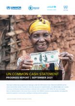 UN Common Cash Statement Progress Report September 2021