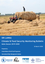 Sri Lanka – Climate and Food Security Monitoring Bulletin for the Maha (primary) Harvest Season (2019-2020)