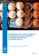 Assessing the Functionality of Marketplaces Serving Rohingya Refugees in Bangladesh