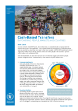 WFP Cash-Based Transfers: Empowering People, Markets & Governments - 2020
