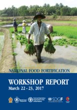 National Food Fortification Workshop Report - March 22-23 2017