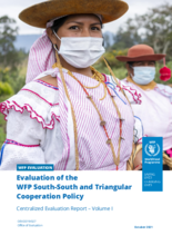 Evaluation of the WFP South-South and Triangular Cooperation Policy