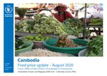 WFP Cambodia - Market Update - August 2020