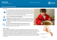 Food Security and Market Monitoring System in Armenia – April 2021