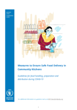 Measures to Ensure Safe Food Delivery in Community Kitchens