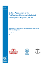 Endline Assessment of the Fortification of Nutrimix in Selected Panchayats of Wayanad, Kerala