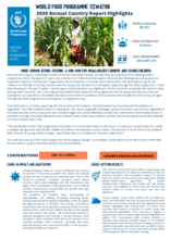 World Food Programme Eswatini 2020 Annual Country Report Highlights