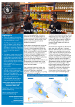 WFP Iraq - Market Monitor Report