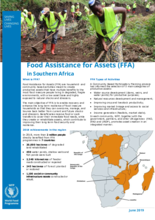 Food Assistance for Assets in southern Africa
