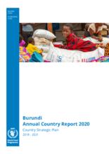 WFP Burundi Annual Country Report 2020