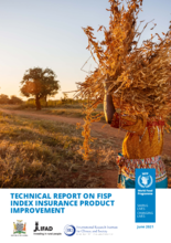 2021- Technical Report on Zambia's Farmer Input Support Program (FISP) Index Insurance Product Improvement