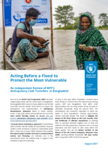 Acting Before a Flood to Protect the Most Vulnerable: An Independent Review of WFP's Anticipatory Cash Transfers  in Bangladesh