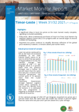 WFP Timor Leste - Market Monitor Report 2-15 August 2021