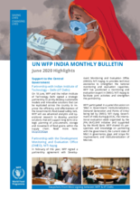 WFP India - Monthly Bulletin