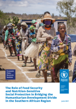 The Role of Food Security & Nutrition-Sensitive Social Protection in Bridging the Humanitarian-Development Divide in the Southern African Region