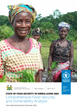 STATE OF FOOD SECURITY IN SIERRA LEONE 2020 Comprehensive Food Security and Vulnerability Analysis