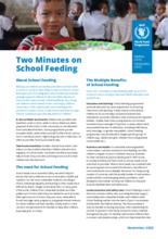 Two Minutes on School Feeding - 2020
