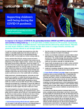 Supporting children's well-being during the COVID-19 pandemic