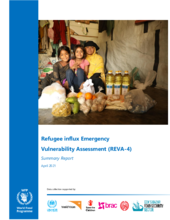 Bangladesh - Rohingya Emergency Vulnerability Assessment (REVA 4) - April 2021