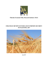 2017 - Zero Hunger Strategic Review -   Palestine