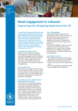 2019 - Retail engagement in Lebanon