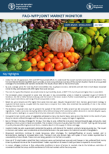 FAO-WFP Joint Market Monitor for Cox's Bazar (July 2021)