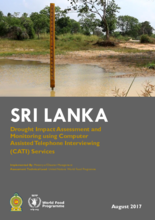 2017 -  Sri Lanka Drought Impact Assessment