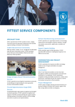 WFP FITTEST Service Components - 2021
