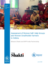 WFP India - Assessment of Women Self-Help Groups and Women Smallholder Farmers in Odisha - June 2020