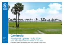 Cambodia - Food Price Update - July 2020