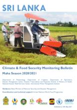 Climate and Food Security Monitoring Bulletin – Maha Season 2020/2021