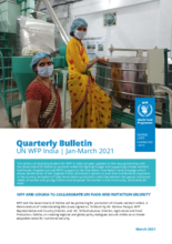 UN WFP India Quarterly Bulletins