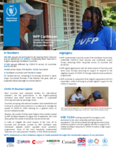 WFP Caribbean COVID-19 Situation Reports