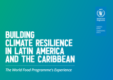 Building Climate Resilience in Latin America and the Caribbean : The World Food Programme's Experience
