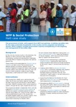 2017 -WFP and Social Protection - Haiti Case Study