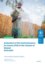 Malawi, Food Assistance for Assets 2015-2019: Evaluation