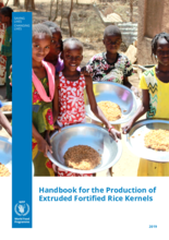 Handbook for the Production of Extruded Fortified Rice Kernels