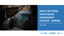 Multi-Sectoral Rapid Needs Assessment: COVID-19 - Jordan