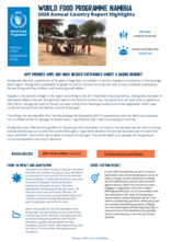 World Food Programme Namibia 2020 Annual Country Report  Factsheet