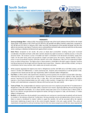 South Sudan - Market Price Monitoring, 2019
