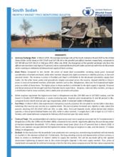 South Sudan - Market Price Monitoring, 2019