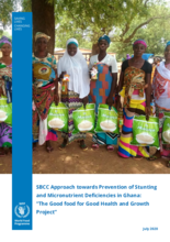 SBCC for Prevention of Stunting and Micronutrients Deficiency in Ghana