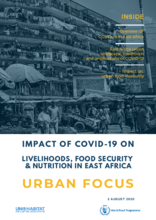 East Africa - Impact of COVID-19 on Livelihoods, Food Security & Nutrition: Urban Focus, August 2020